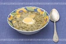 Chłodnik szczawiowy z jajkiem