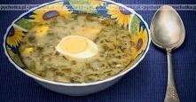Teresy Zupa szczawiowa z ja...