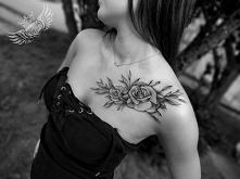 tatuaż na obojczyku