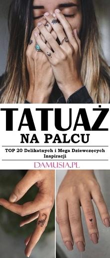 Modny Tatuaż na Palcu – TOP...