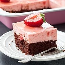 Ciasto czekoladowe z musem ...