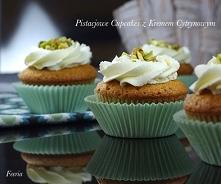 pistacjowe cucakes