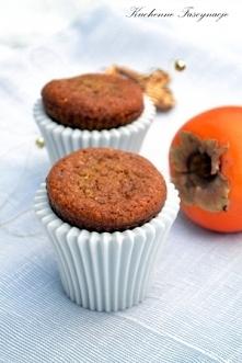 korzenne muffiny z persymoną