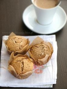 muffiny kawowe z chałwą