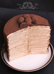 100 warstwowy tort nalesnikowy