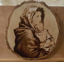 Matka boska z dzieciątkiem ...