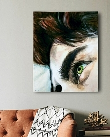 Obraz akrylowy na płótnie, ręcznie malowany - Daria Dee Verano - ig @dariadeeverano_art