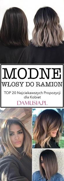 Modne Włosy do Ramion – TOP 20 Najciekawszych Propozycji dla Kobiet