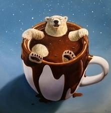 Gorąca czekolada najlepiej smakuje w domu ☆♡