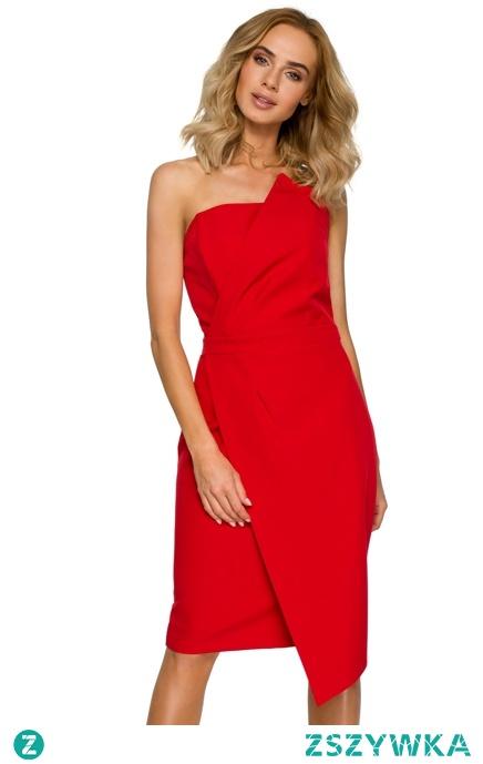 Elegancka asymetryczna sukienka na wyjątkowe okazje