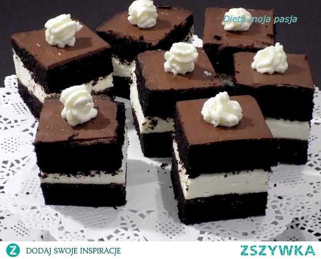 Pyszne ciasto czekoladowe bez mąki, wprost idealne na walentynki...