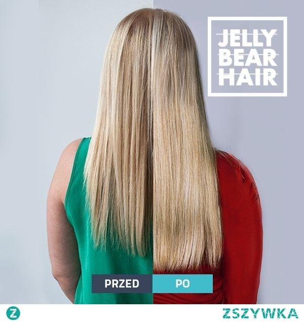 Masz dość łykania dużych, niewygodnych tabletek? Nie masz czasu, aby wcierać coś we włosy?  Zapoznaj się z Jelly Bear Hair, które mają formę pysznych, pomarańczowych żelek. Połącz przyjemne z pożytecznym i miej piękne włosy!