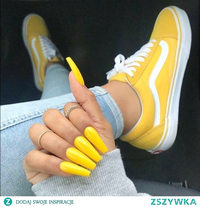 long coffin acrylic nails