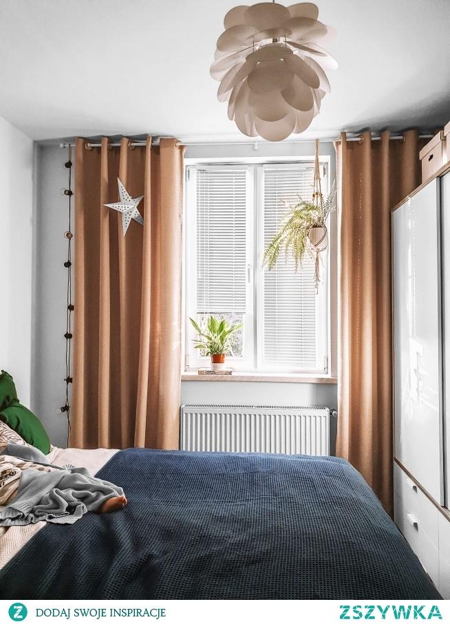 Zasłony w materiale Mieszkanie Marzeń 14 i białe żaluzje aluminiowe :)  Zasłony na wymiar, żaluzje i rolety znajdziesz w Nasze Domowe Pielesze