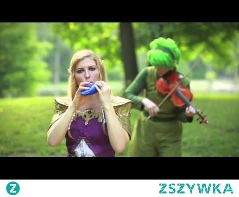 Deku Palace from the Legend of Zelda Majora's Mask on STL Ocarina and Saria Song on Violin