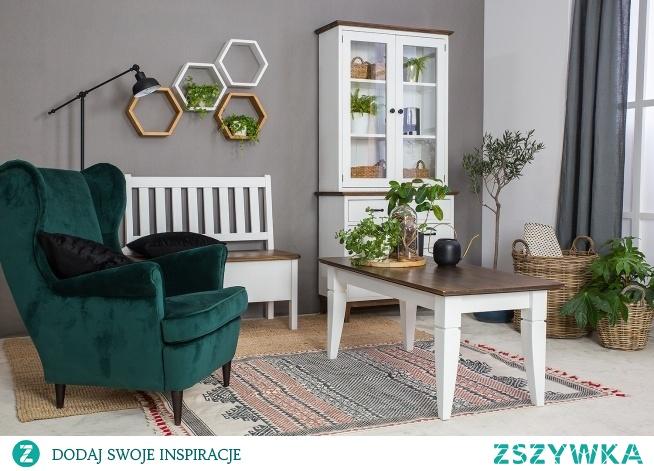 białe meble w skandynawskim stylu meble-woskowane.com.pl