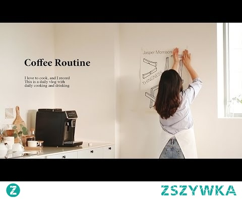 sub) 푸드스타일리스트의 하루 일과와 커피 루틴ㅣ5가지 커피 레시피