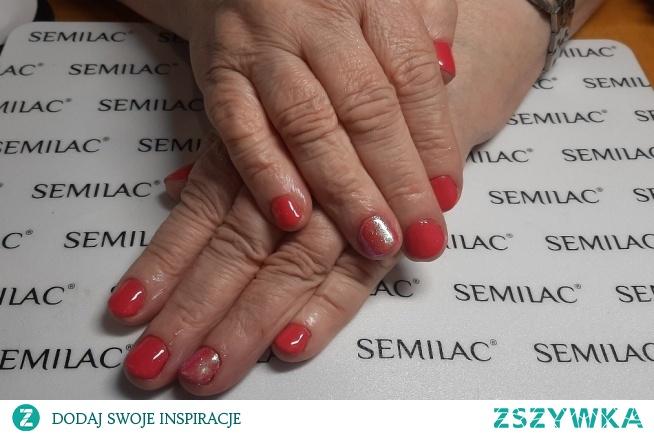 Semilac 007, indigo efekt syrenki