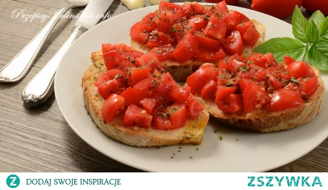 Bruschetta z pomidorami Anny