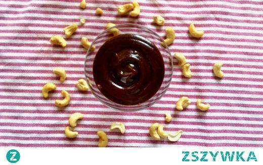 Krem czekoladowy z orzechów nerkowca