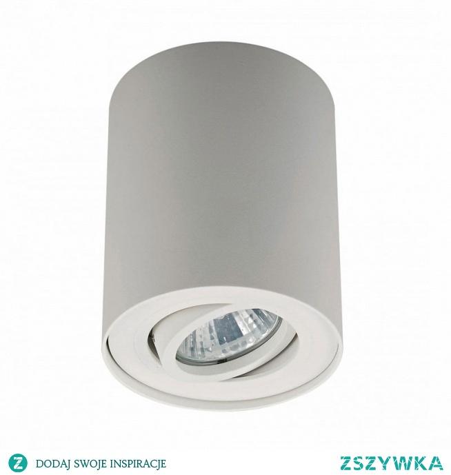 Spot RONDOC 20038-WH Zuma Line. Nowoczesna lampa sufitowa o wysokiej jakości wykonania z tworzywa aluminium. Kształt oświetlenia RONDOC przypomina walec, a wykończony został w kolorze białym. Zuma Line Rondoc posiada 1 żarówkę o max mocy 50W, oraz mechanizm pozwalający na kierowanie światła. Lampa sufitowa jest praktyczna i estetyczna.
