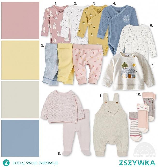 Wiosenna wyprawka dla noworodka. Na blogu one-set.pl pełna minimalistyczna wyprawka dla noworodka urodzonego wiosną.