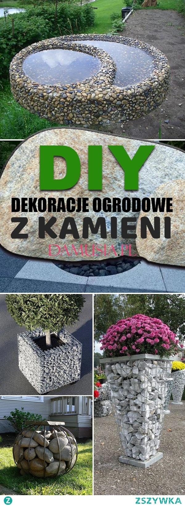 DIY Dekoracje Ogrodowe z Kamieni – Sprawdź Najciekawsze Pomysły!