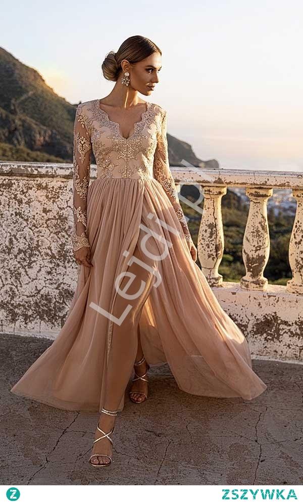 Fenomenalna sukienka na wesele, sukienka na bal, sukienka dla druhny, sukienka dla mamy panny młodej. lejdi.pl