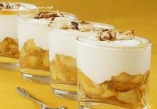 Deser z jabłek Weroniki
