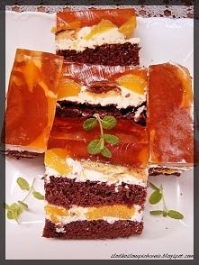 Ciasto brzoskwiniowa delicja