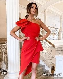 Nowa asymetryczna sukienka ...