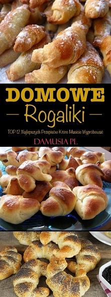 Domowe Rogaliki – TOP 12 Najlepszych Przepisów Które Musicie Wypróbować