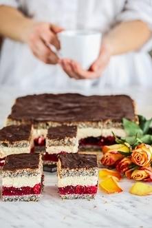 Ciasto kostka makowa - obłędnie pyszne <3
