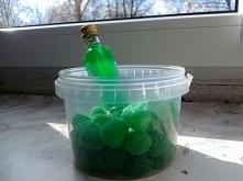 Zielona nalewka!  Żelki malinki ze sklepu internetowego GUSTO pl