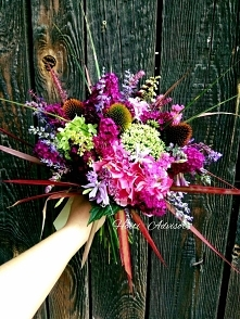 Summer bouquet made of hort...