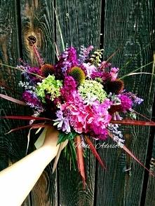 Summer bouquet made of hort...