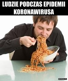 Ludzie podczas epidemii kor...