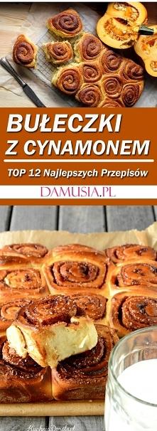 Bułeczki z Cynamonem: TOP 12 Najlepszych Przepisów