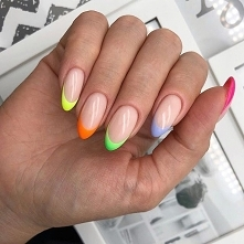 manicure colorfull