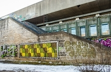 Betonowy kompleks wybudowany z ok Letnich Igrzysk Olimpijskich w Moskwie w 1980r. W Tallinie były zawody żeglarskie.Teraz opuszczony