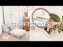 Thrifted Room Decor DIYs on a budget | Home Decor Ideas 2019
