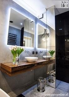 Piękna inspiracja - łazienka :):)