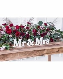 Drewniany Napis na stół Mr&...