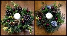 Stroiki na stół świąteczny,...