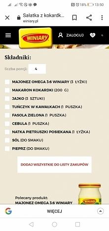 Sałatka z kokardkami cz. 1