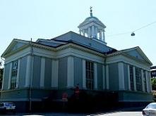 Stary Kościół w Helsinkach z 1826  w dz Kamppi{Proj Engel}