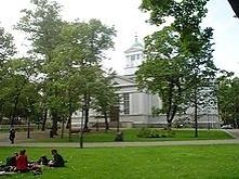 Stary Kościół,pierwszy luterański po tym jak Helsinki zostały stolicą.Obok cm...