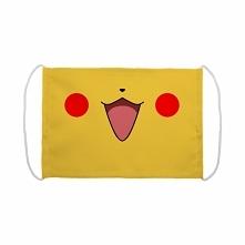Maseczka z nadrukiem Pikachu