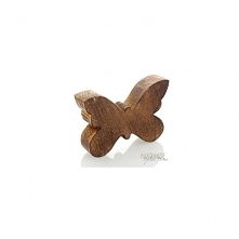 Motylek drewniany