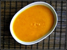 Zupa krem z dyni z imbirem ...